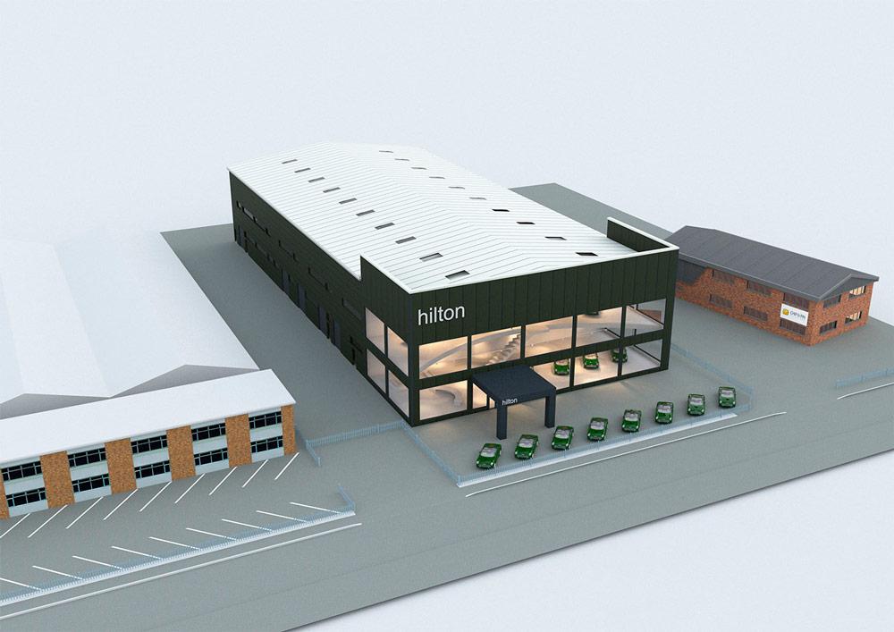Hilton Coachworks new facility